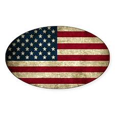 USA Flag - Grunge Decal