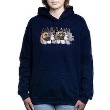 Great Dane Group Show Women's Hooded Sweatshirt