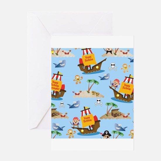 PIRATE THEME Greeting Cards