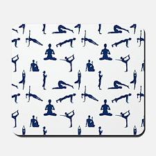 Yoga Positions Mousepad