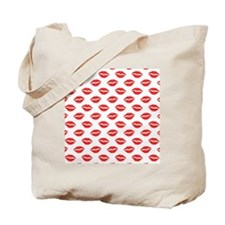 Cute Lips Tote Bag