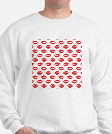 Unique Red lipstick Sweatshirt