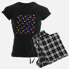 Rainbow Salamander Pajamas
