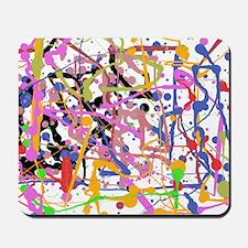 Painte Splatter My Way Mousepad