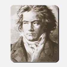 Beethoven In Sepia Mousepad