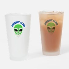 An Ancient Alien Drinking Glass