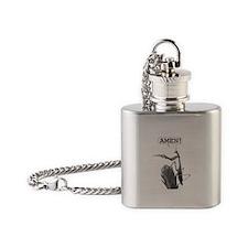 A Praying Mantis Praying Flask Necklace