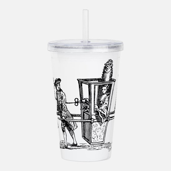 wig-ride_bk.png Acrylic Double-wall Tumbler