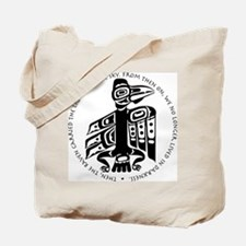 Cicely Raven with Quote Tote Bag