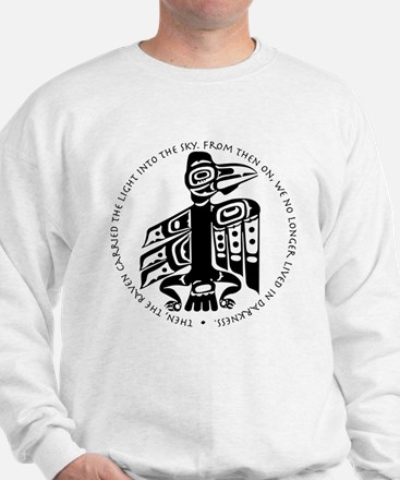 Cicely Raven with Quote Sweatshirt