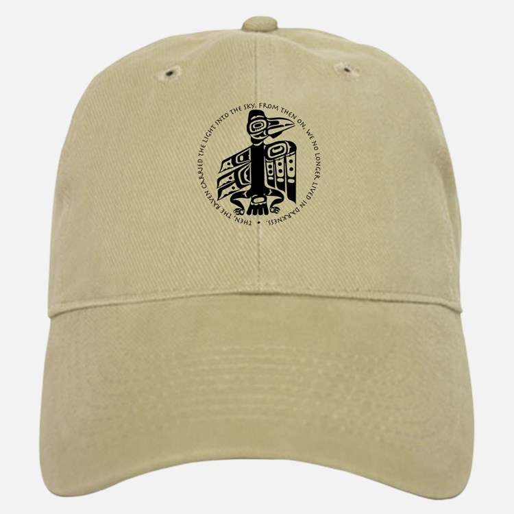 Cicely Raven with Quote Baseball Baseball Cap