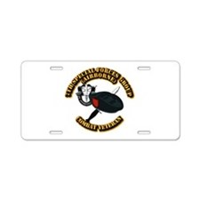 7th Special Forces - Combat Aluminum License Plate