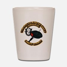 7th Special Forces - Combat Vet Shot Glass