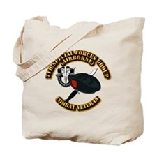 7th Special Forces - Combat Vet Tote Bag