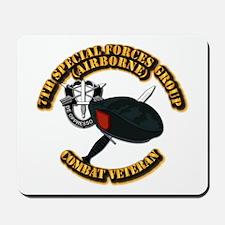 7th Special Forces - Combat Vet Mousepad