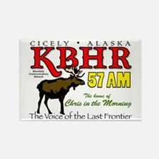 KBHR, Cicely, Alaska Rectangle Magnet