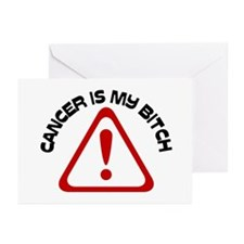 Cancer is my BITCH Greeting Cards (Pk of 10)