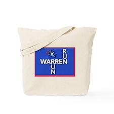Run, Warren, Run  Tote Bag