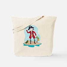 The pirate kid Tote Bag