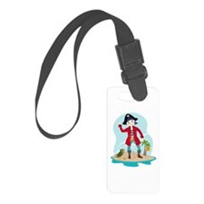 The pirate kid Luggage Tag