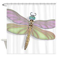 Http Cafepress Com Dragonfly Flying Damselfly Insect Bug Gold Jewel Bathroom Decor