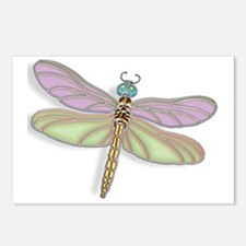 Unique Dragonflies Postcards (Package of 8)