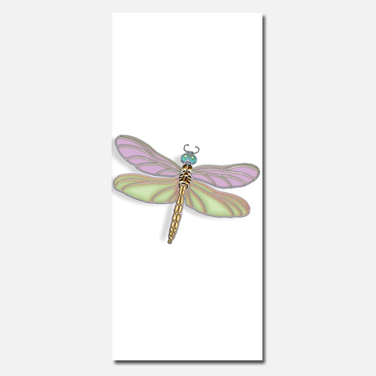 Lavender and Green Dragonfly Invitations