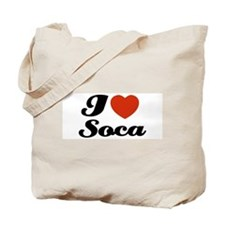 I love Soca Tote Bag