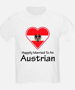 Happily Married Austrian T-Shirt