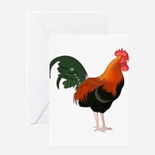 King of the Roost Greeting Cards