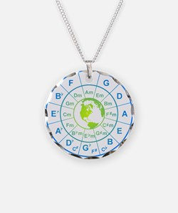 circle of 5th earth Necklace