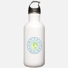 circle of 5th earth Water Bottle