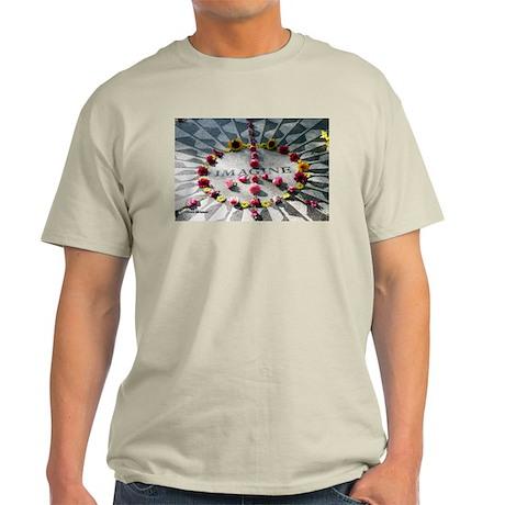 """Imagine,"" Strawberry Fields, Light T-Shirt"