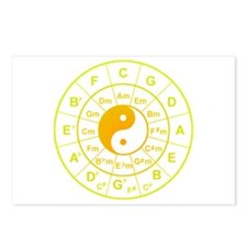 yin yang circle of 5th Postcards (Package of 8)
