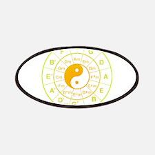 yin yang circle of 5th Patches