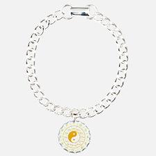 yin yang circle of 5th Bracelet
