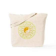 yin yang circle of 5th Tote Bag