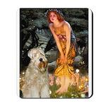 Fairies & Wheaten Terrier Mousepad