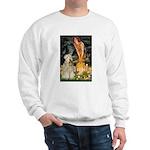 Fairies & Wheaten Terrier Sweatshirt