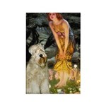 Fairies & Wheaten Terrier Rectangle Magnet
