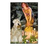 Fairies & Wheaten Terrier Postcards (Package of 8)