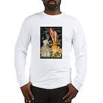 Fairies & Wheaten Terrier Long Sleeve T-Shirt