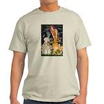 Fairies & Wheaten Terrier Light T-Shirt