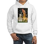 Fairies & Wheaten Terrier Hooded Sweatshirt