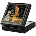 Fairies & Wheaten Terrier Keepsake Box