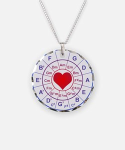 Circle of 5th love Necklace