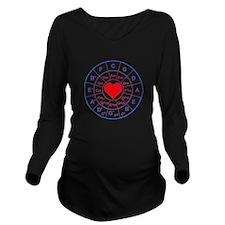 Circle of 5th love Long Sleeve Maternity T-Shirt