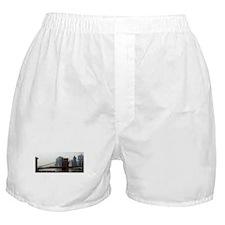 Foggy Brooklyn Bridge Boxer Shorts
