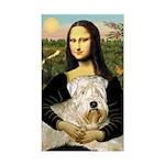 Mona's Wheaten Sticker (Rectangle)