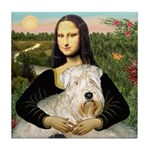 Mona's Wheaten Tile Coaster